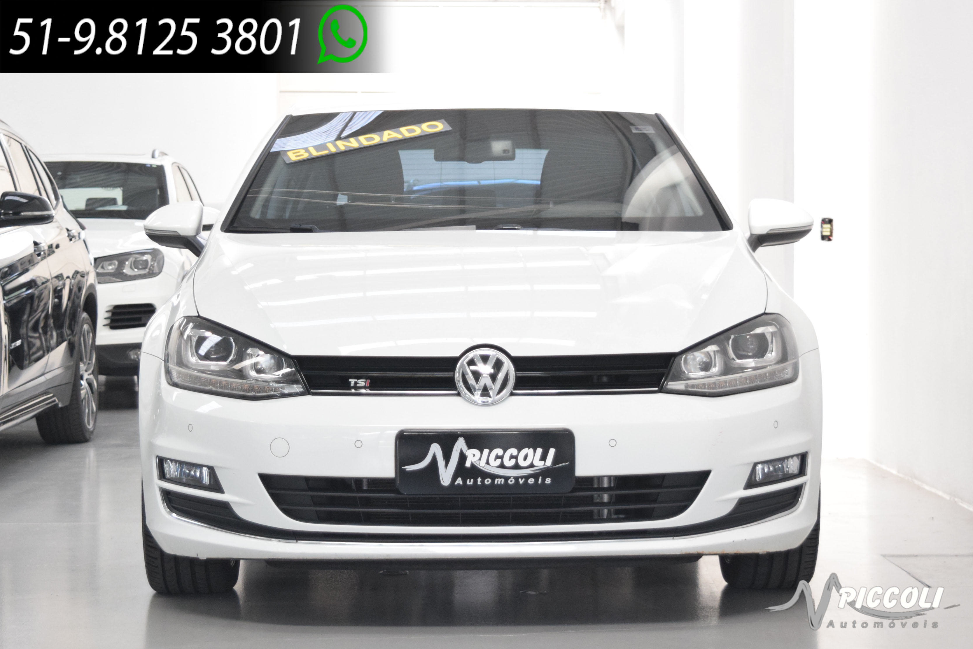 Volkswagen Golf Highline Tsi BLINDADO