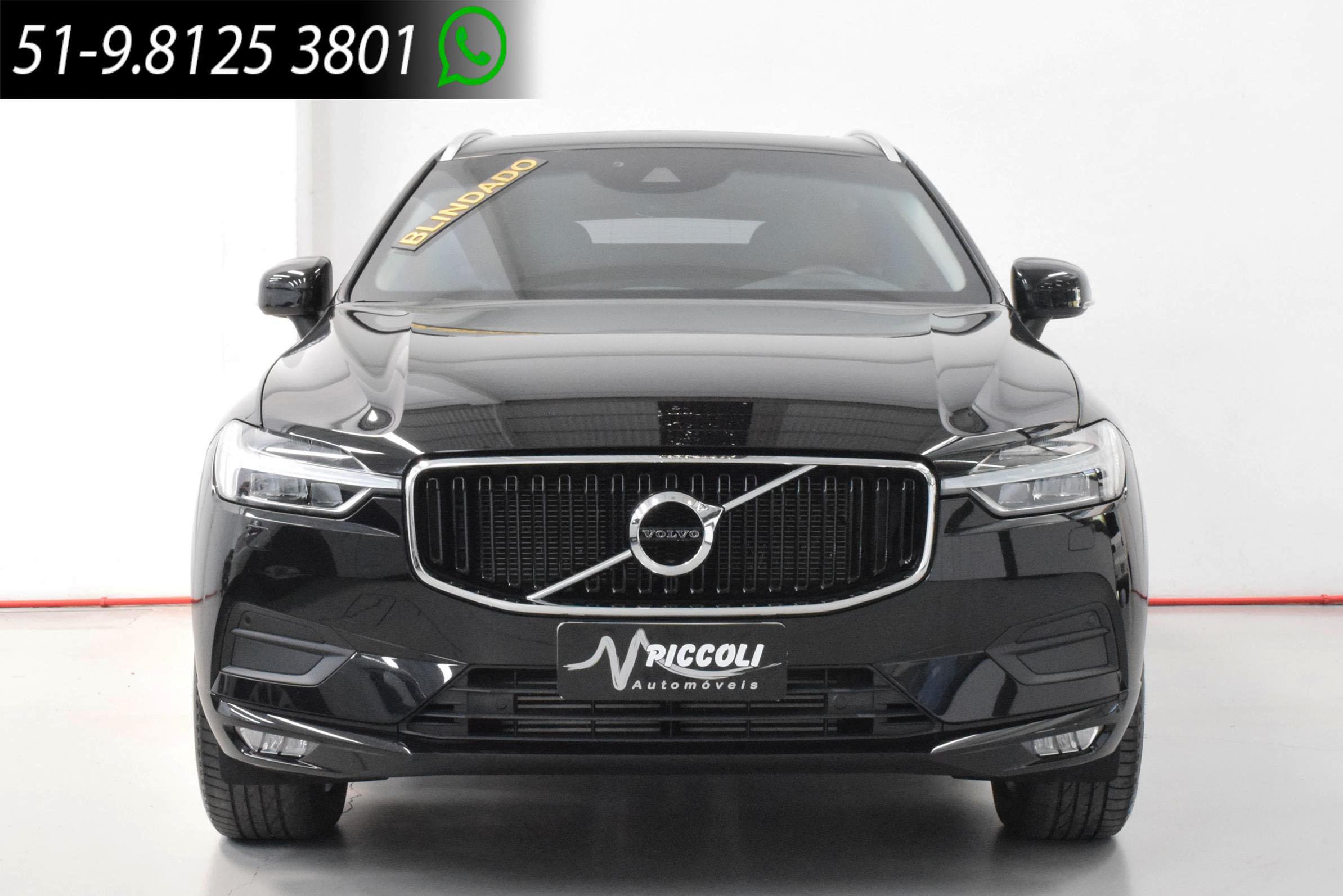 VOLVO - XC60 T5 MOMENTUM BLINDADA - 2018/2018 - PRETA - R$ 249.900,00