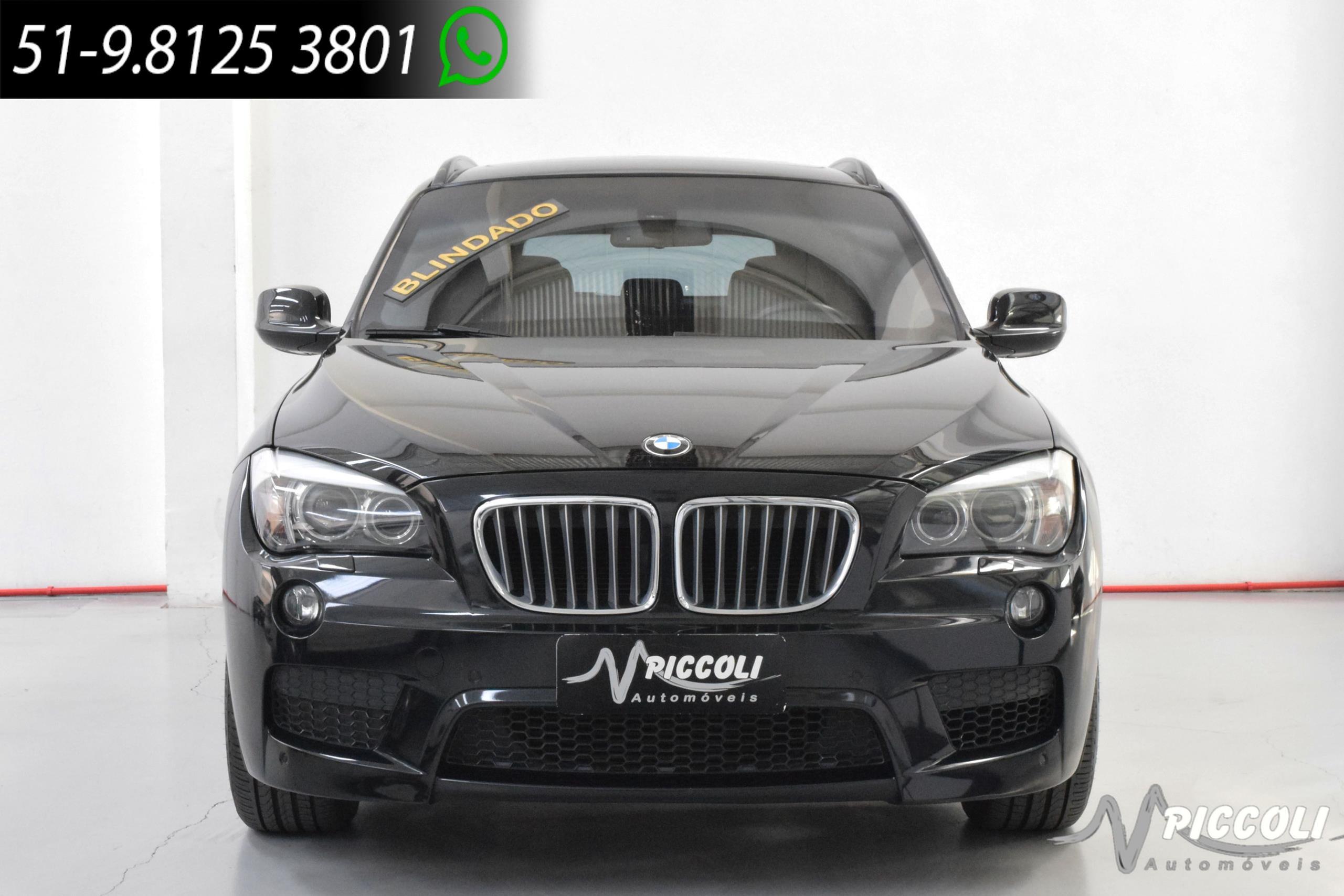 BMW - X1 28I BLINDADA - 2012/2013 - PRETA - R$ 95.900,00