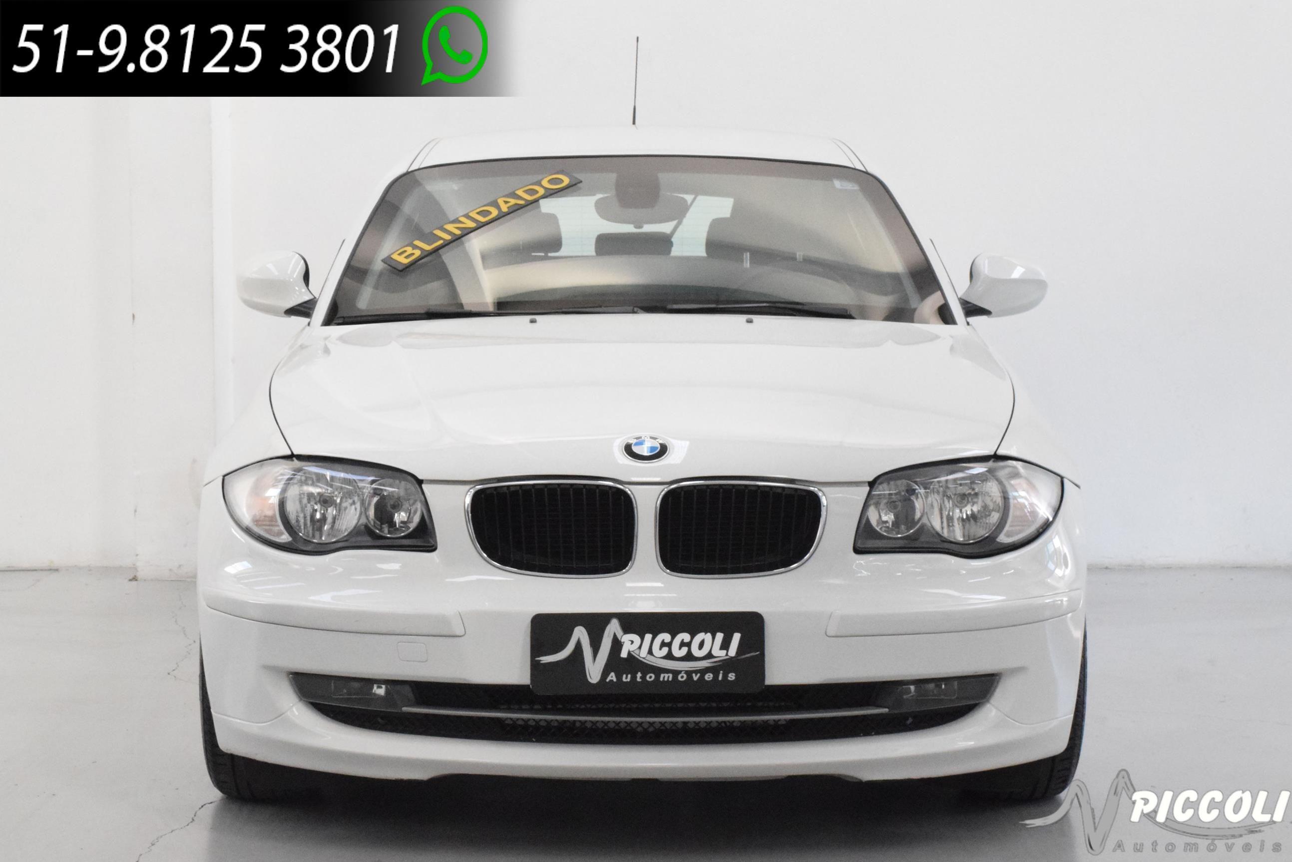 BMW - 118I - 2010/2011 - BRANCA - R$ 69.900,00