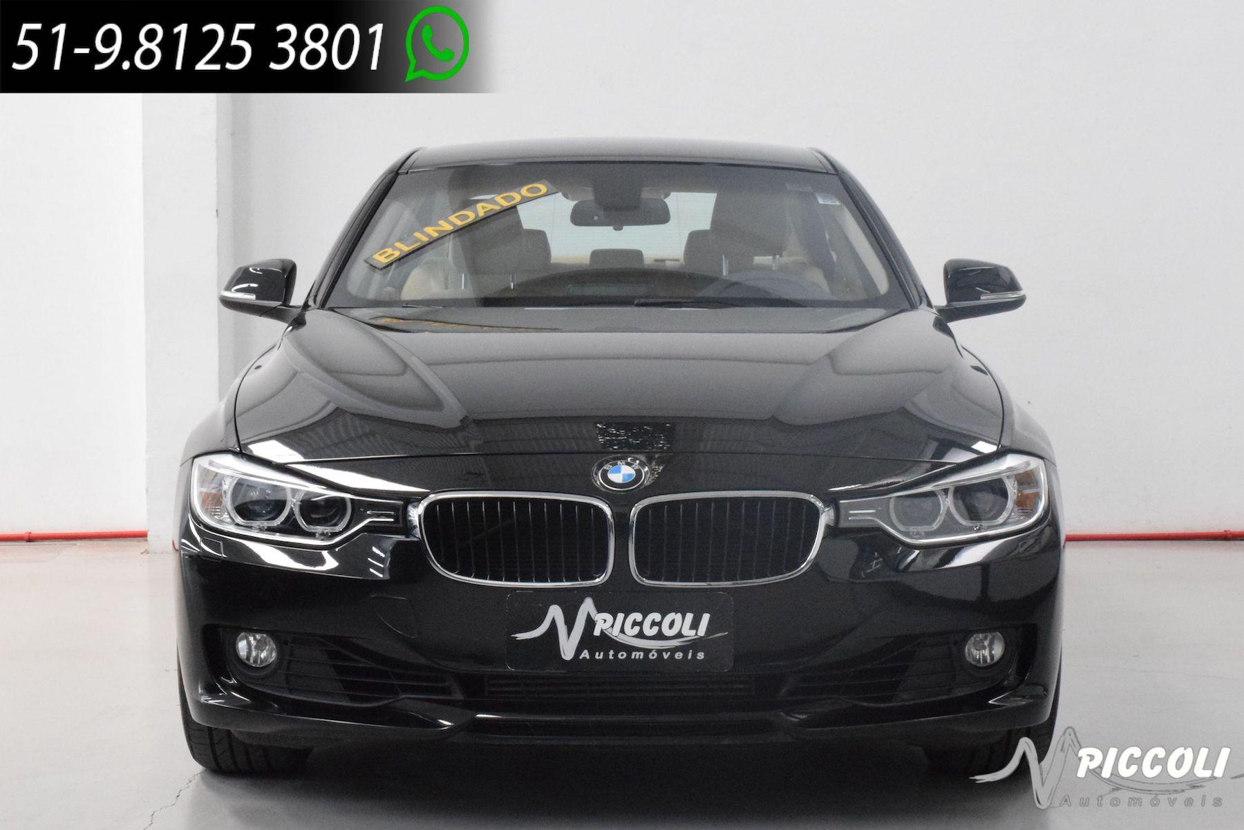 BMW - 320I BLINDADA - 2015/2015 - PRETA - R$ 109.900,00
